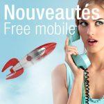 Nouveautés Free Mobile